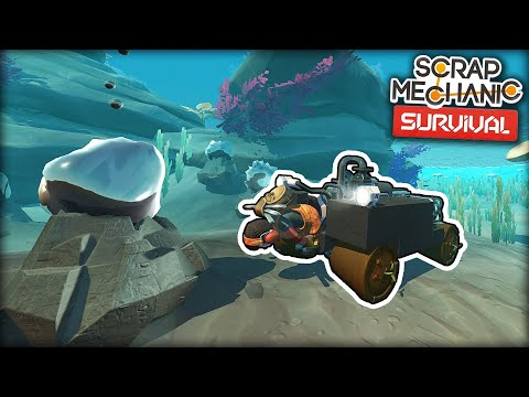 I Built an Underwater Tank for Fast Oil Collecting! (Scrap Mechanic Survival Ep.33)