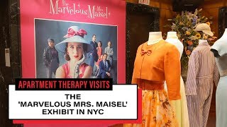 Marvelous Mrs. Maisel Pop-Up In NYC | Apartment Therapy Visits | Apartment Therapy