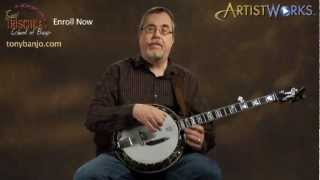 Tony Trischka Banjo Lessons: Sixths, First and Third Strings