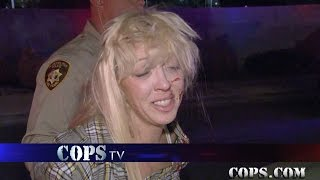 ALL NEW COPS EPISODE Running Scared Tomorrow Night Saturday April 22nd 87