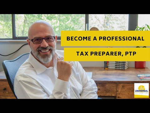 Become a Professional Tax Preparer, PTP - YouTube