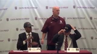 Owen Mcglashan  and Kyle Maurer Signing Day April 2019