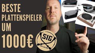 Beste Plattenspieler um 1000€ / Beste Schallplattenspieler / Vinyl / Welcher Plattenspieler / HiFi