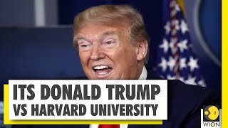 Donald Trump vs Harvard feud intensifies; Give money back to Americans, says Trump - Download this Video in MP3, M4A, WEBM, MP4, 3GP
