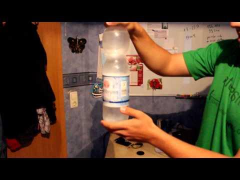 Wasser gefriert in Sekunden durch schlagen