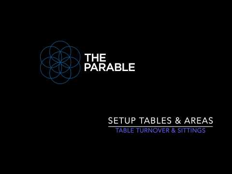 The Parable - Table Setup and Sitting Times