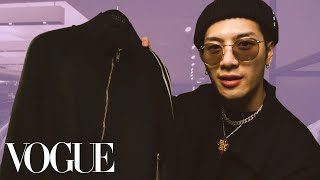 Jackson Wang Shops for the Perfect Tracksuit | Vogue