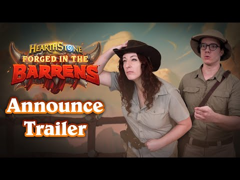 Hearthstone Mercenaries mode and Forged in the Barrens expansion announced for this year at BlizzConline