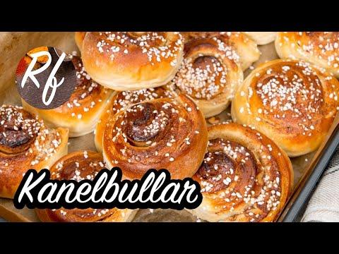 Klassiska kanelbullar fyllda med smör, socker och kanel. Gott i är också att fylla med riven mandelmassa, äppelmos, bär, äppelskivor, nutella, vaniljsocker, finrivet citronskal eller någon marmelad.>