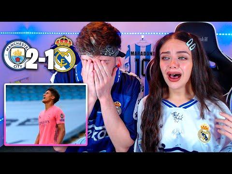 REACCIONANDO al MANCHESTER CITY 2-1 REAL MADRID Vuelta OCTAVOS Champions League 2020