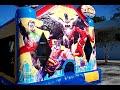 Justice League Theme Bounce House Hopper