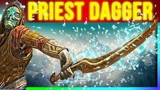 Skyrim SECRET Weapons - Dragon Priest Dagger Location (Rare One Handed Weapon)