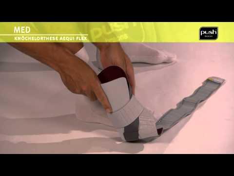 Push Braces   med Knöchelbandage Aequi flex
