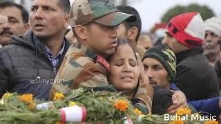R.I.P. Soldiers #Pulwama attack😔 || Ae Watan Aabad Rahe Tu | Behal Music