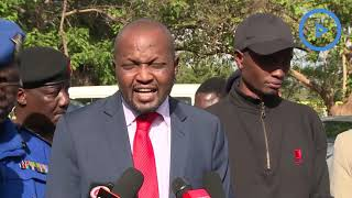 Moses Kuria on JKUAT closure, insecurity