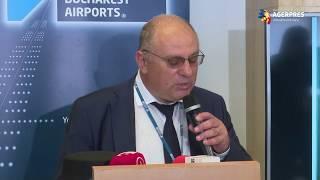 Primul zbor regulat transcontinental Paris - Bucureşti, marcat luni pe Aeroportul Băneasa