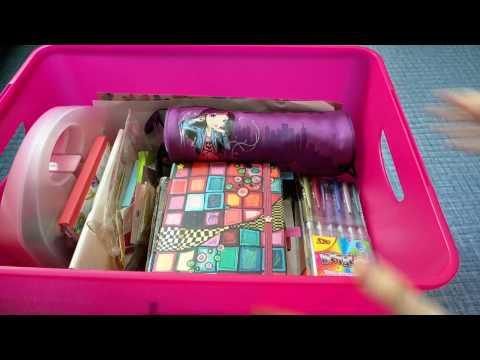 Коробка для личного дневника|ЛД|Творчество|Канцелярия видео