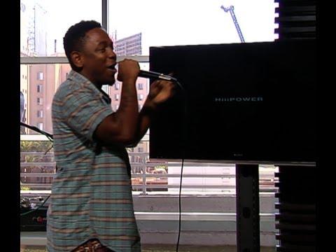 Kendrick Lamar performs HiiiPower live
