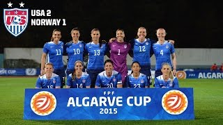 WNT Vs. Norway: Highlights - March 4, 2015