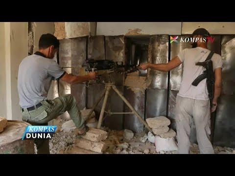 Pertempuran Pemberontak & Pemerintah Suriah Kembali Terjadi