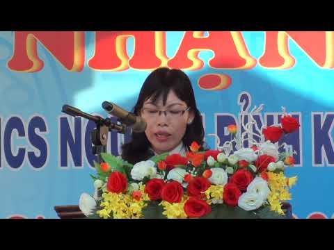 Phát biểu của phó chủ tịch huyện Thuận Nam
