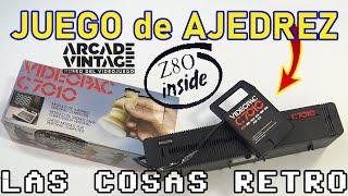 Un Z80 en un JUEGO de AJEDREZ de VIDEOPAC G7000 ♟ Cartucho C7010