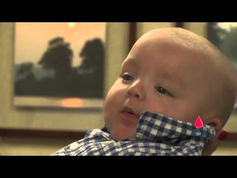 Video Rh Disease leads to 28 transfusions for baby Mack