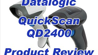 Datalogic QuickScan QD2400 Barcode Scanner Review by POSGuys.com