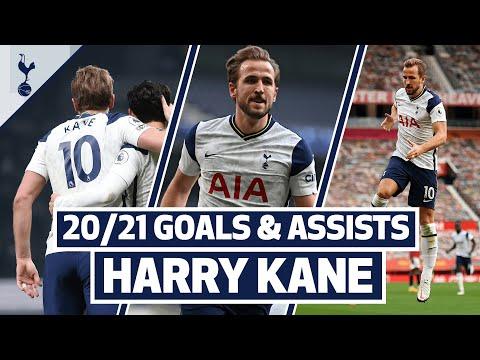 HARRY KANE GOALS & ASSISTS | Every single Premier League goal involvement so far this season