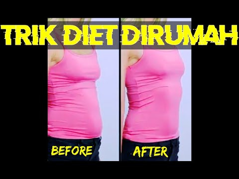 Sebagai cara termudah untuk menghilangkan lemak perut