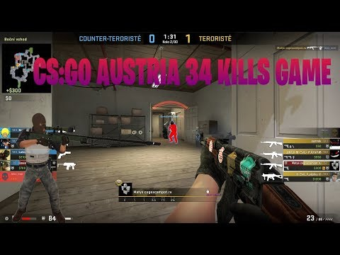 CS:GO AUSTRIA 34 KILLS GAME