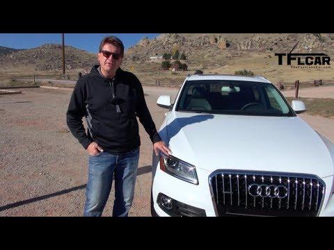2014 Audi Q5 TDI Quattro 0-60 MPH Drive and Review