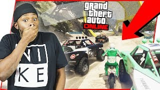THERE'S NO WAY THIS CAN END WELL! - GTA Online Race Gameplay