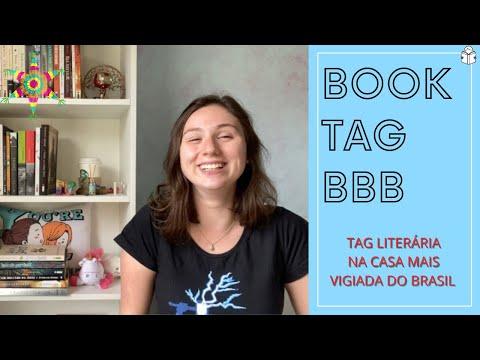 BOOK TAG BBB - LIVROS NA CASA MAIS VIGIADA DO BRASIL
