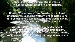preview picture of video 'Königs Wusterhausen in Brandenburg'