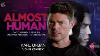 Almost Human Karl Urban exclusive interview SciFiN