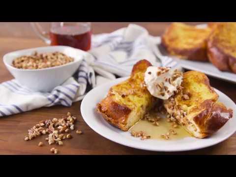 Pumpkin Pie Stuffed French Toast Recipe
