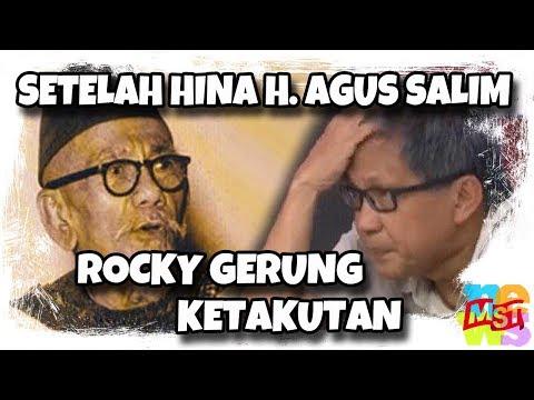 Rocky Gerung Ket(a)kutan Setelah Bilang: 'Haji Agus Salim Kayak Kambing'