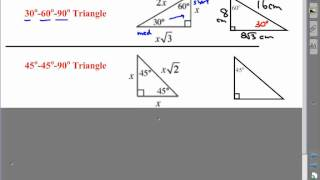 Ch 5 Special Right Triangles.wmv