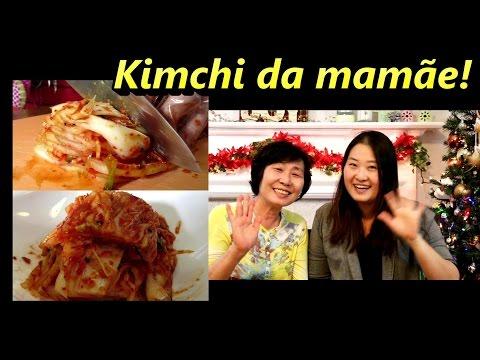 Kimchi da mamãe!