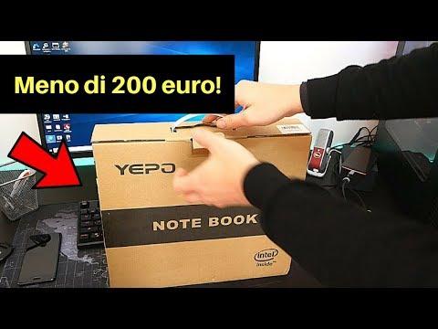 Il miglior portatile economico nel 2018 - Yepo 737a a 185 euro !!!