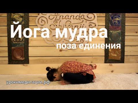 Йога для начинающих. Обучающее видео № 9.3. АСАНА № 26. ЙОГА МУДРА (ПОЗА ЕДИНЕНИЯ).