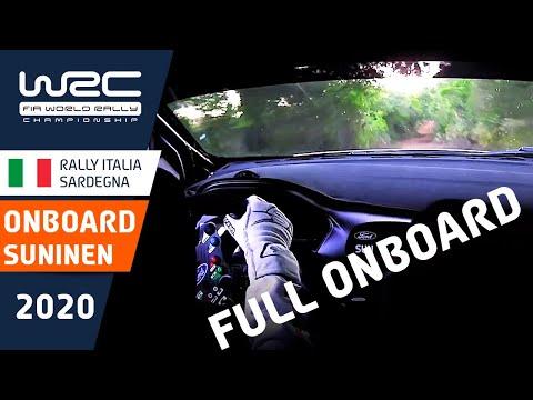 スニネン視点で見るSS1のオンボード映像。実際のラリードライバーがSS1を駆け抜けるまで WRC ラリー・イタリア・サルディニア