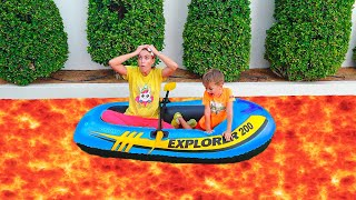 The Floor Is Lava And More Kids Videos With Animation Vlad And Niki