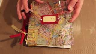 Studio SN: How To Make A Paper Journal With Ice Resin