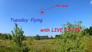 Вспоминаю как летать после карантина (collab with LIVE IS FPV)