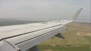 preview picture of video 'LOT Polish Airlines Embraer 170 landing (Kaliningrad Khrabrovo - UMKK) LO695'