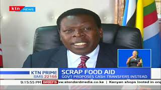 CS Wamalwa has launched a digital platform way of distributing food to affected areas