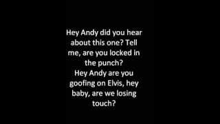 R.E.M  man on the  moon  (lyrics)