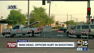 Police investigating after officer shoots and kills man in downtown Phoenix